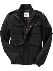 Mens Wool Blend Bomber_Old Navy_69.50