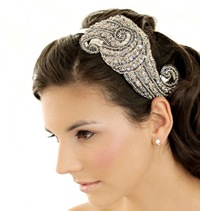 Deco Beaded and Sequin Headband by Bethany Lorelle