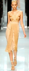 Versace fringe dress