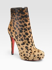 christian louboutin leopard ankle boots saks
