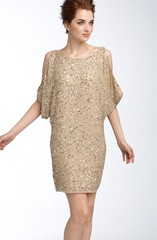 nordstrom sequin shoulder dress