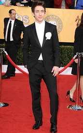 Actor Kevin McHale arrives at the 17th Annual Screen Actors Guild Awards held at The Shrine Auditorium on January 30, 2011 in Los Angeles, California.