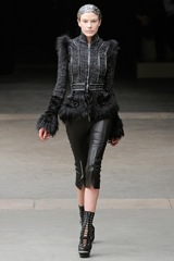 Alexander McQueen Fall 2011_Leather