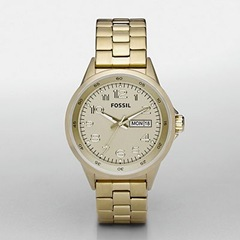 Fossil Gold Watch 95