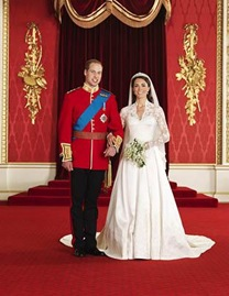 Royal Wedding Couple
