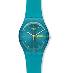 Swatch Turquoise Watch