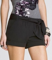 express belted shorts 59.90