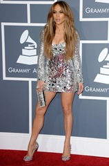 jennifer lopez silver mini
