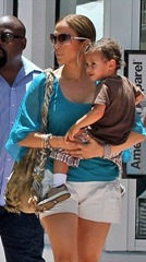 jennifer lopez with son