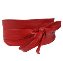 Red Obi Belt Asos