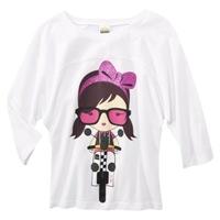 Harajuku Mini for Target Girls 3QS Nerdy Chic Tee 14.99