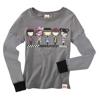 Harajuku Mini for Target Girls LS Bikers Tee 14.99