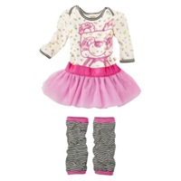 Harajuku Mini for Target Infant Girls 2 PC Panda Tutu Set 19.00
