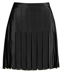 Versace HM Blk Pleated Skirt 69.95