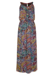 LTS_Multi Color Spot Print Maxi Dress 165