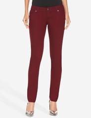 Burgundy_Skinny Jeans_Burgundy_Limited
