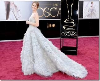 Oscars2013_amy_adams-Oscar de la Renta