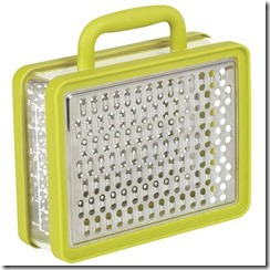 (2) High Fashion Home_Briefcase Box Grater $15
