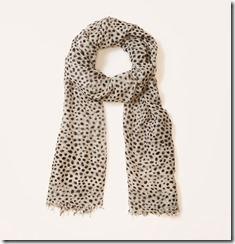 loft_leopard scarf $34.50