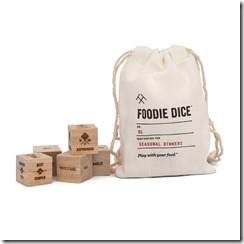 Uncommon Goods_Foodie Dice $24