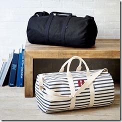 West Elm_Baggu Duffle Bag $89   $8.50 Monogrammed