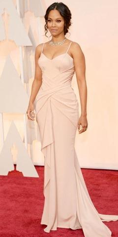 Zoe Saldana in Versace
